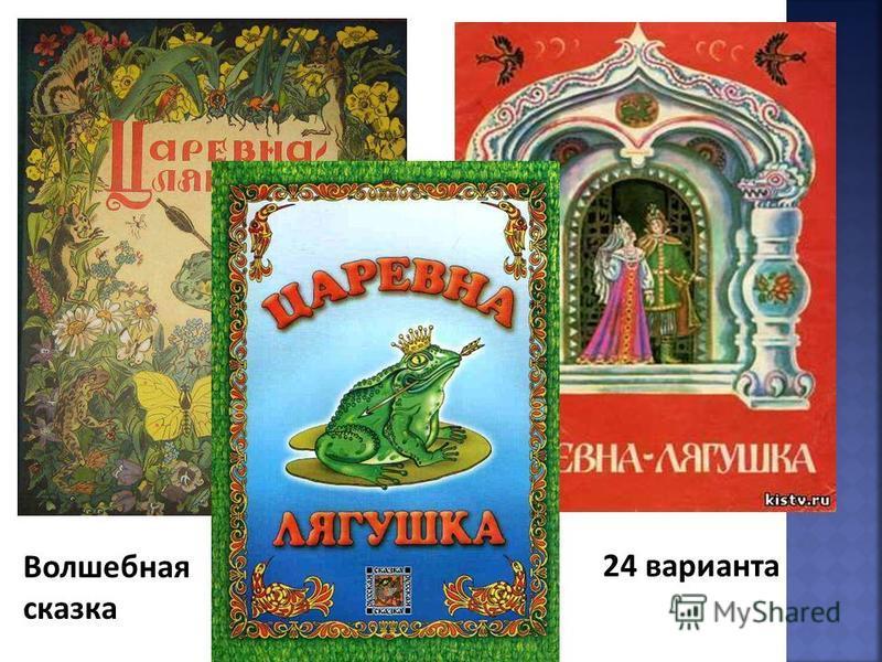 24 варианта Волшебная сказка