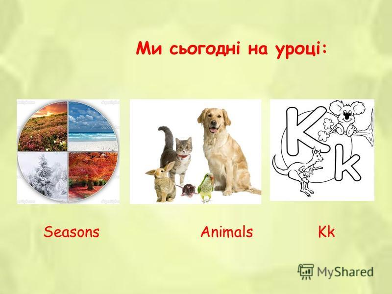 Nature (Animals) 1 st grade Teacher: Ovsyannikova Iryna Yuriivna