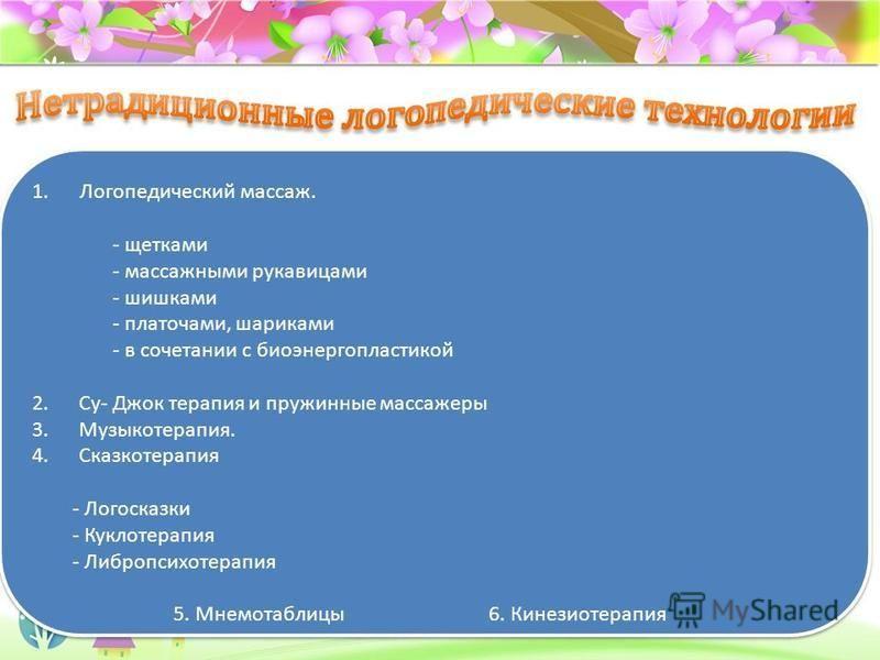 ProPowerPoint.ru Иннвационные технологии в логопедической практике - это только дополнение к общепринятым, проверенным временем технологиям (технология диагностики, звуко постановки, формирования речевого дыхания, технология развития мелкой моторики,