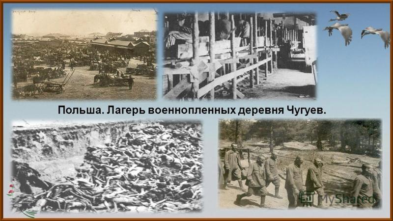 Польша. Лагерь военнопленных деревня Чугуев.