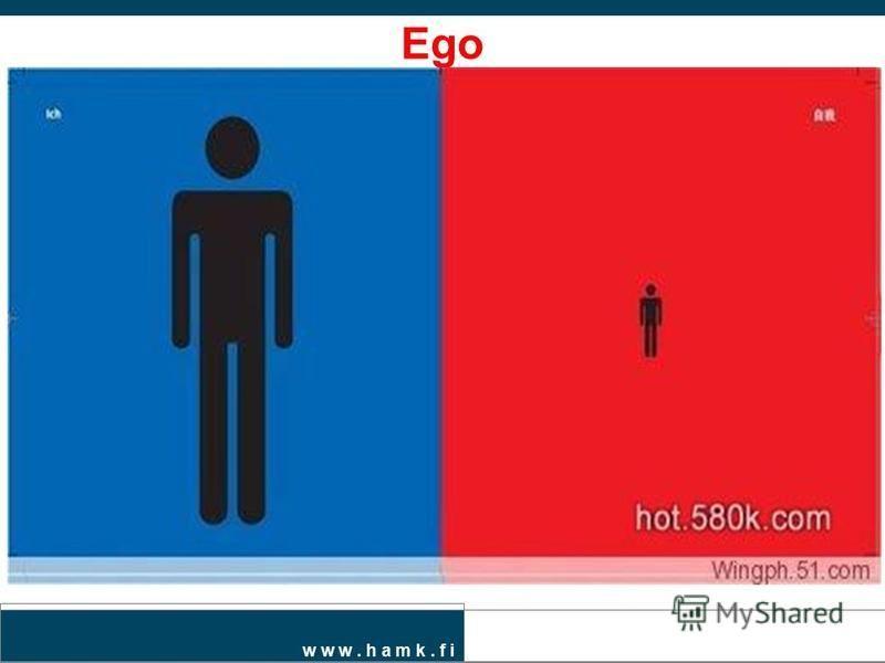 w w w. h a m k. f i Ego