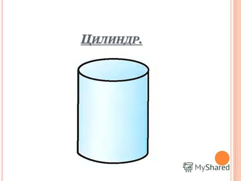 Ц ИЛИНДР.