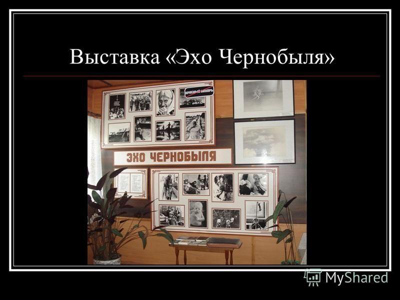 Выставка «Эхо Чернобыля»