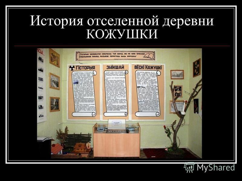 История отселенной деревни КОЖУШКИ