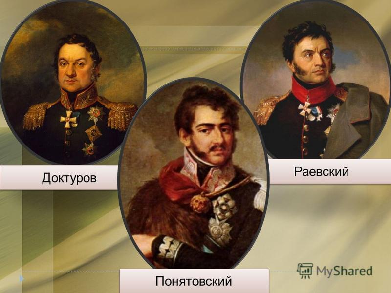 Доктуров Раевский Понятовский