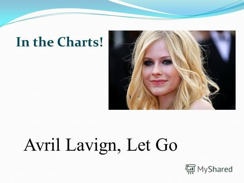 Avril Lavign, Let Go In the Charts!