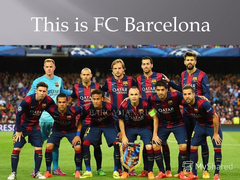 This is FC Barcelona