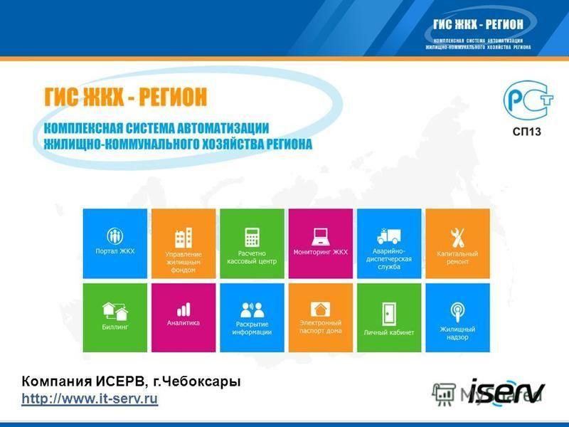 Компания ИСЕРВ, г.Чебоксары http://www.it-serv.ru