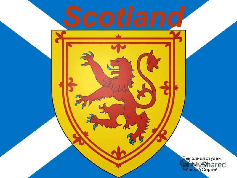 Scotland Выполнил студент группы 14Э Новиков Сергей