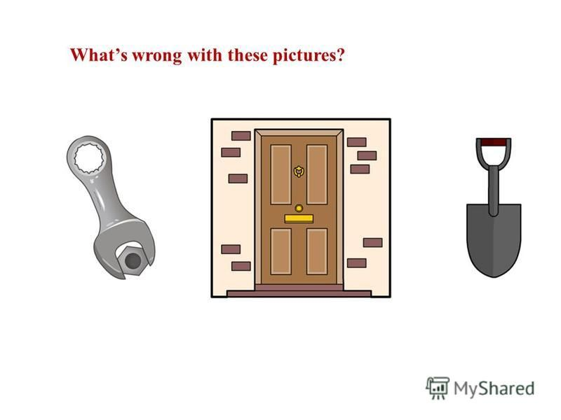 Whats wrong with these pictures?