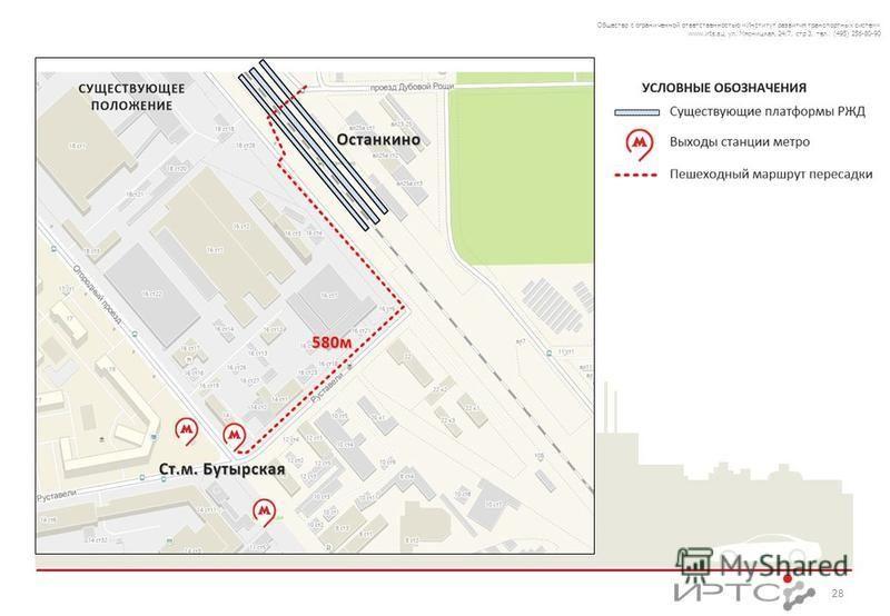 28 Общество с ограниченной ответственностью «Институт развития транспортных систем» www.irts.su, ул. Мясницкая, 24/7, стр 3, тел.: (495) 256-80-90