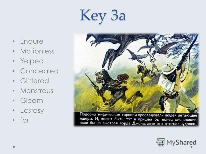 Key 3a Endure Motionless Yelped Concealed Glittered Monstrous Gleam Ecstasy for
