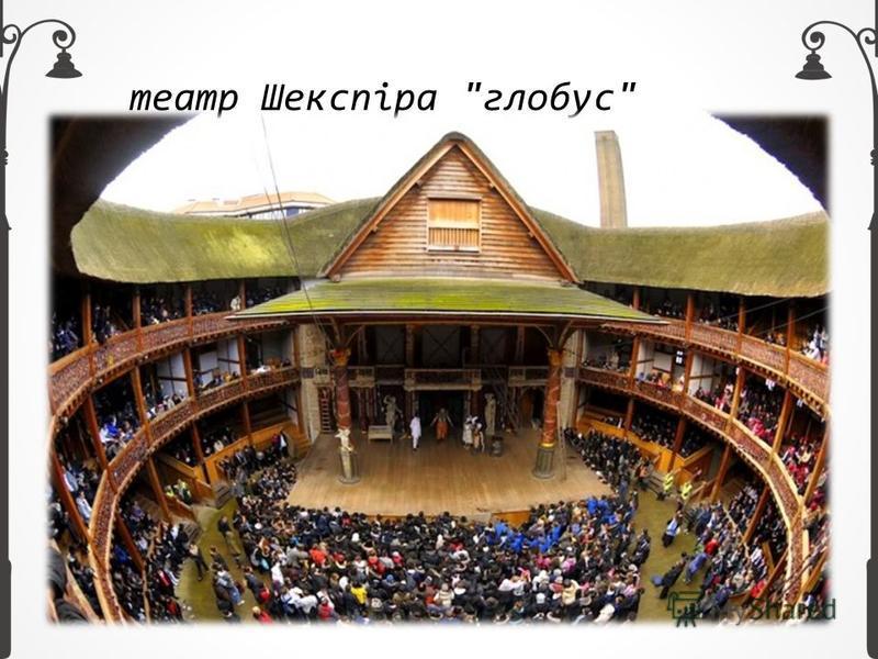 театр Шекспіра глобус
