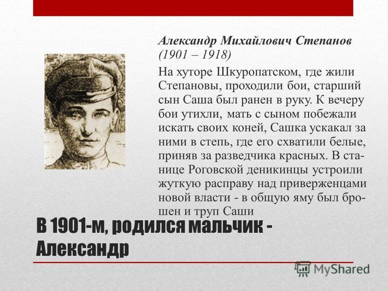 Епистиния Федоровна Степанова (1874 – 1969). Родилась на Украине, но с детских лет жила на Кубани. У нее было редкое имя – Епистиния. В переводе с греческого - «знающая».