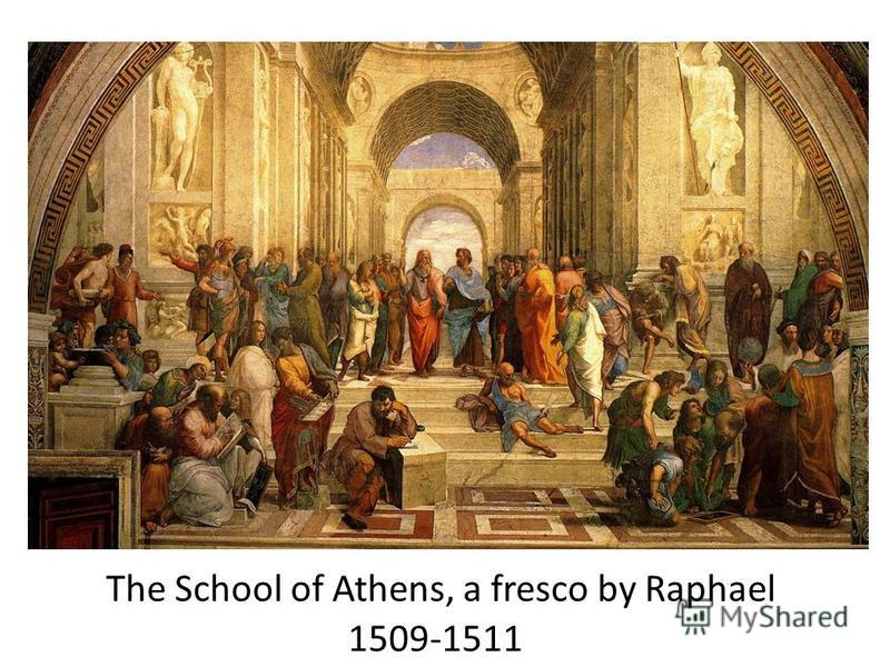 The School of Athens, a fresco by Raphael 1509-1511