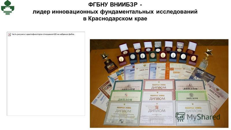 ФГБНУ ВНИИБЗР - лидер инновационных фундаментальных исследований в Краснодарском крае