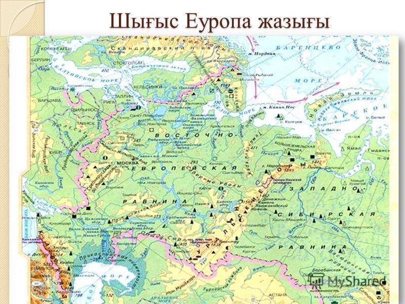 Шығыс Еуропа жазығы
