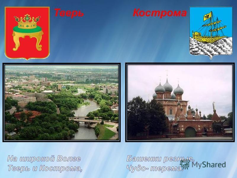 Тверь Кострома