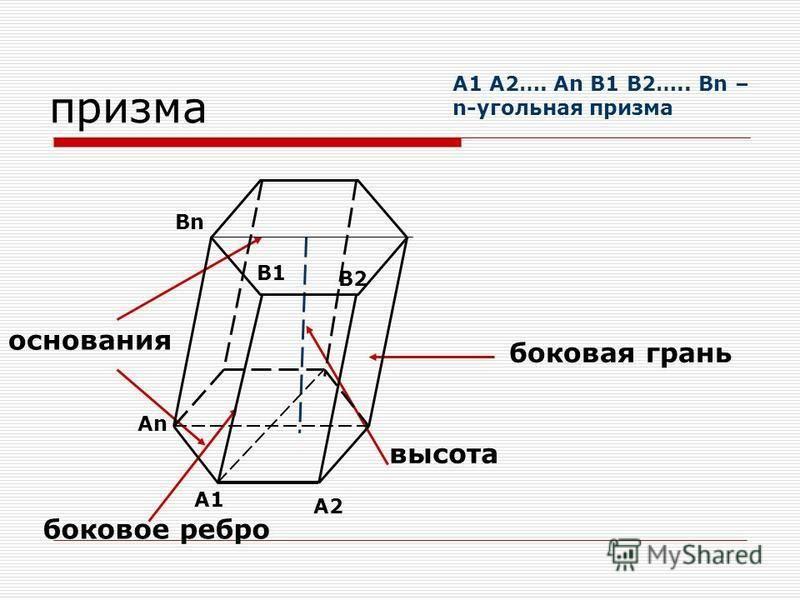 высота изображается вертикальным отрезком основание высоты является центром окружности, описанной около основания В случае правильной пирамиды
