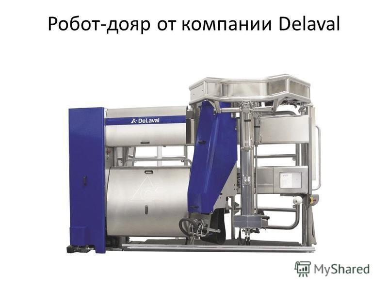 Робот-дояр от компании Delaval