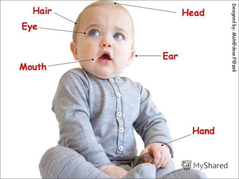 Head Hair Eye Ear Mouth Hand