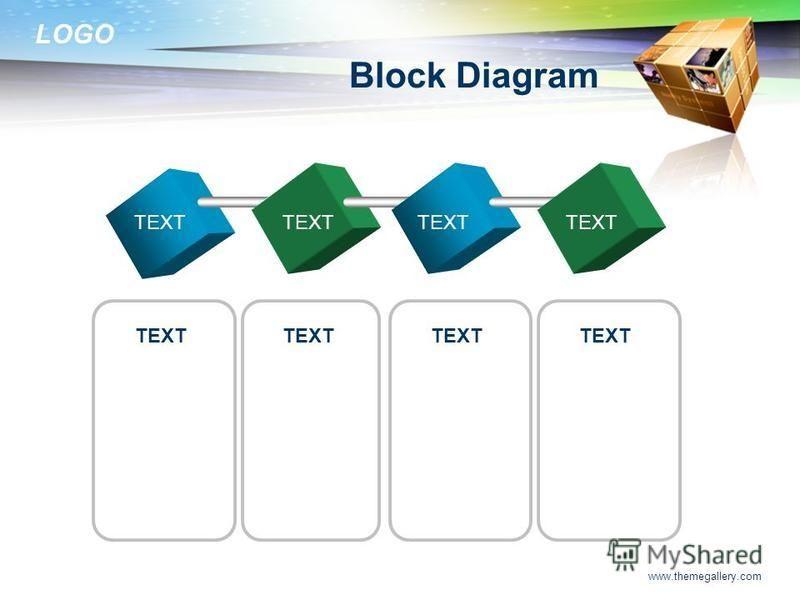 LOGO www.themegallery.com Block Diagram TEXT
