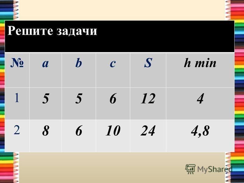 Решите задачи abcSh min 1 556124 2 861010244,8