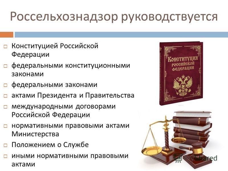 международные акты конституция рф