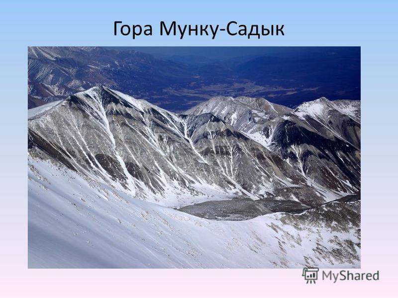Гора Мунку-Садык