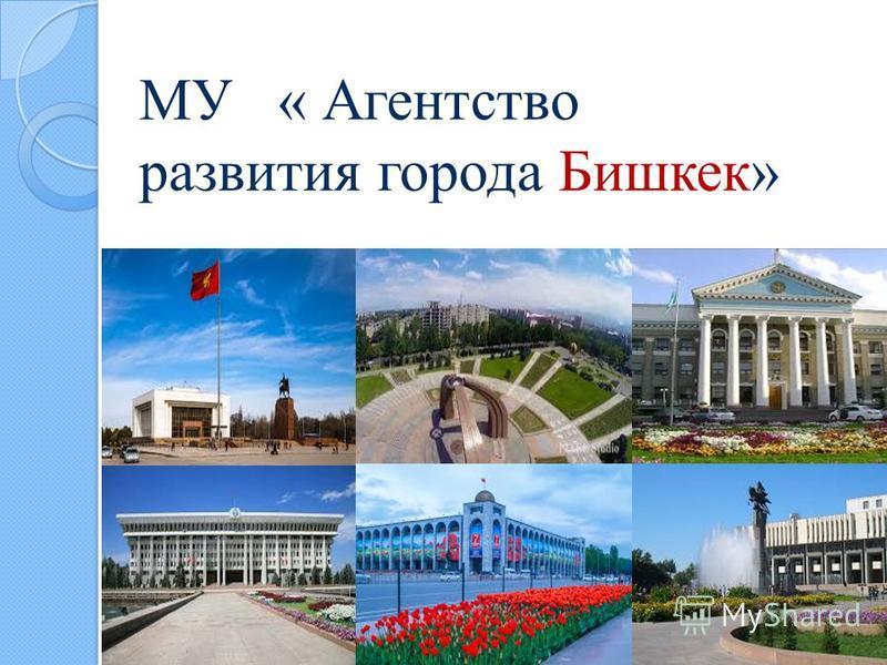 МУ « Агентство развития города Бишкек»