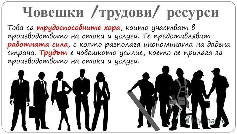 Човешки / трудови / ресурси