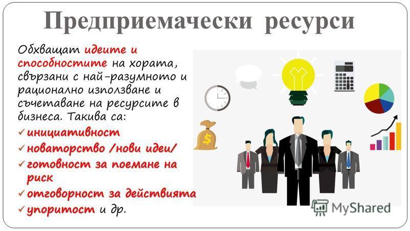 Предприемачески ресурси