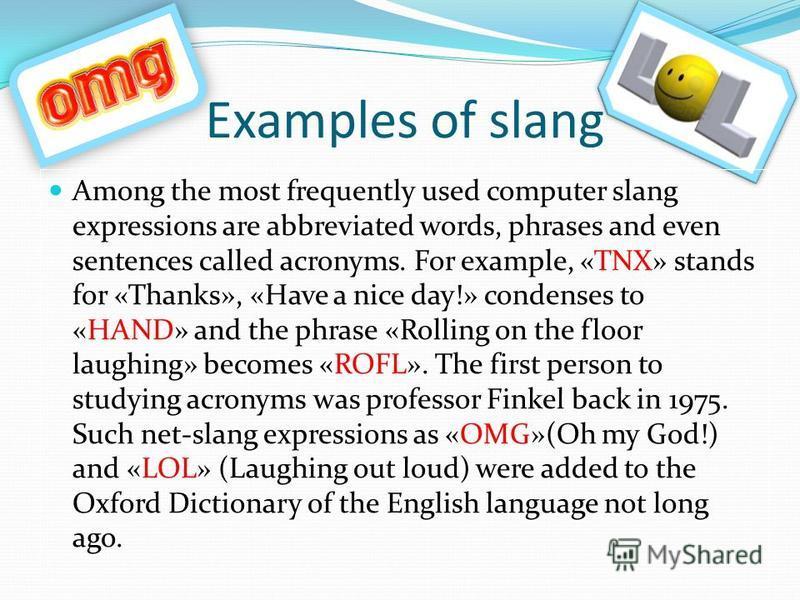 Bb Slang