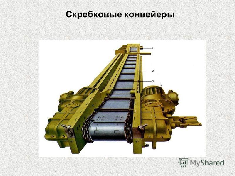 14 Скребковые конвейеры