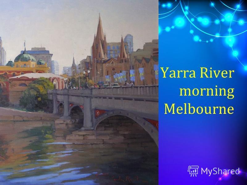 Yarra River morning Melbourne