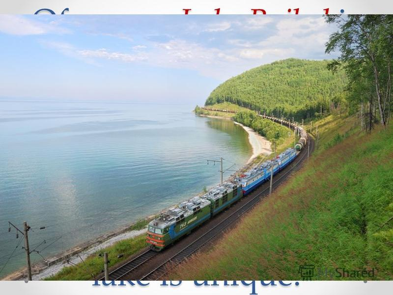 Of course Lake Baikal is one of the main sightseeing attractions which you can see during your trip on the Railway. Lots of people overcome hundreds of kilometers especially to see it. This lake is unique.