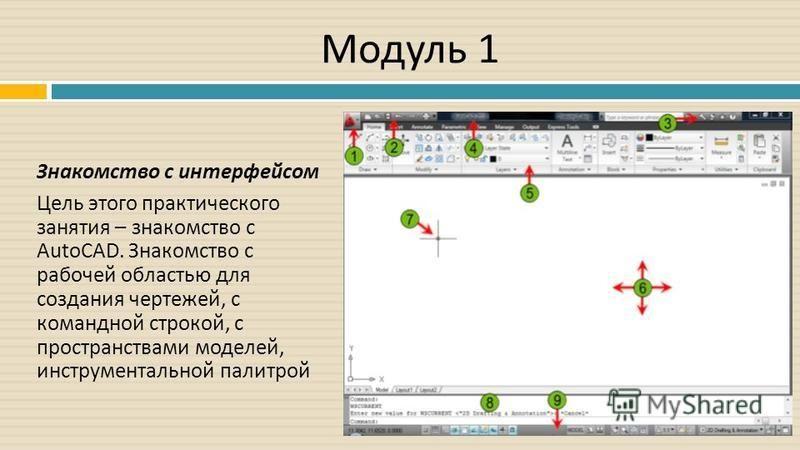 Модуль 1 Знакомство с интерфейсом Цель этого практического занятия – знакомство с AutoCAD. Знакомство с рабочей областью для создания чертежей, с командной строкой, с пространствами моделей, инструментальной палитрой Рисунок 1. Игра «Лабиринт»
