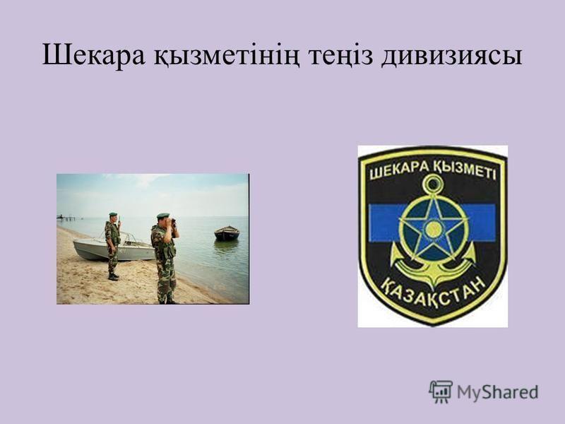 Шекара қызметінің теңіз дивизиясы