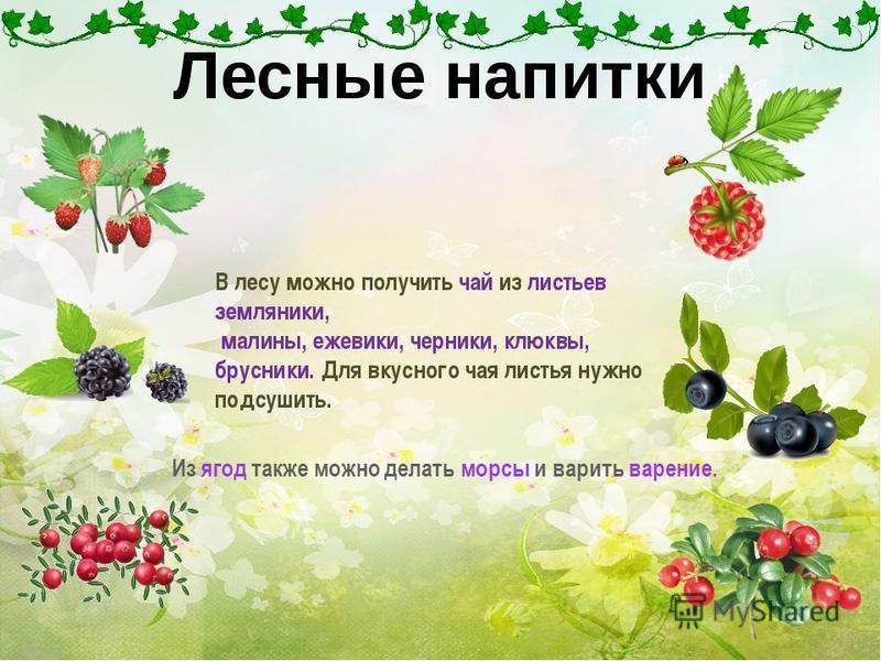 Из ягод также можно делать морсы и варить варение.