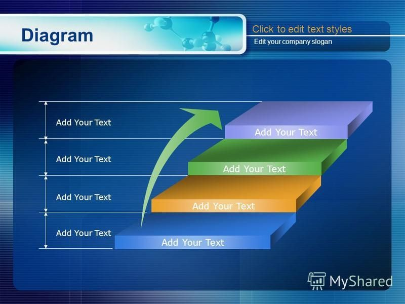 Diagram Add Your Text Click to edit text styles Edit your company slogan