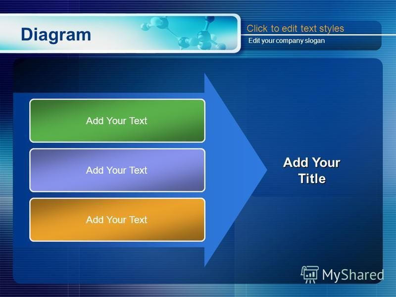 Diagram Add Your Text Add Your Title Click to edit text styles Edit your company slogan