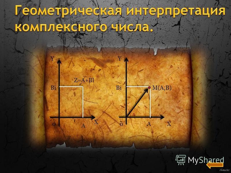 Y 0 X Bi A Z=A+Bl Y Bi 0A M(A;B) X