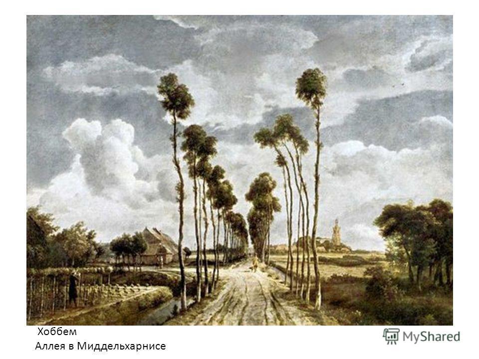 Хоббем Аллея в Миддельхарнисе