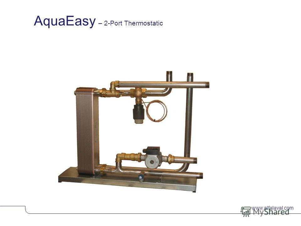 www.alfalaval.com AquaEasy – 2-Port Thermostatic