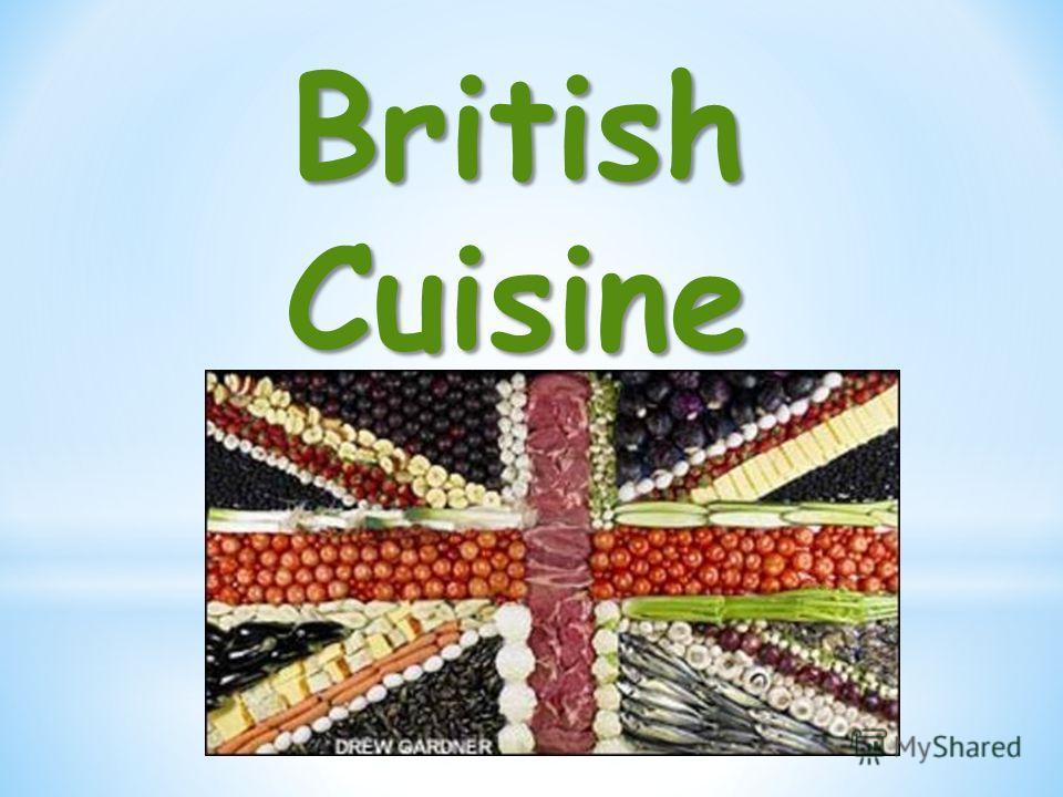 BritishCuisine
