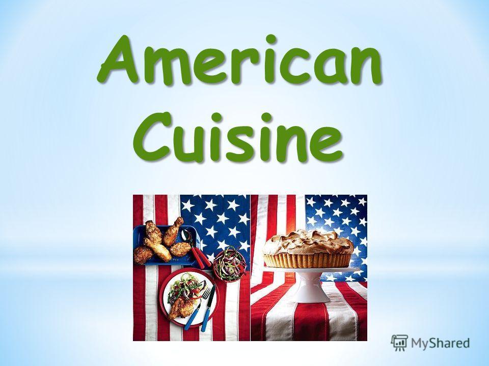 AmericanCuisine