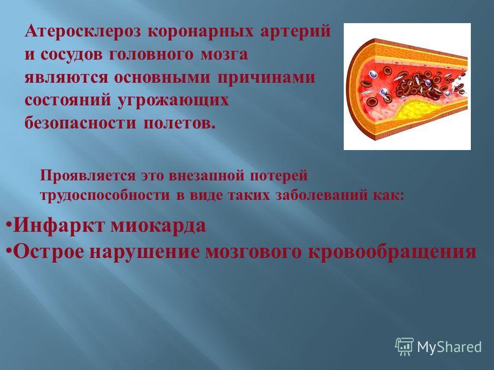 При атеросклерозе сосудов головного мозга появляется