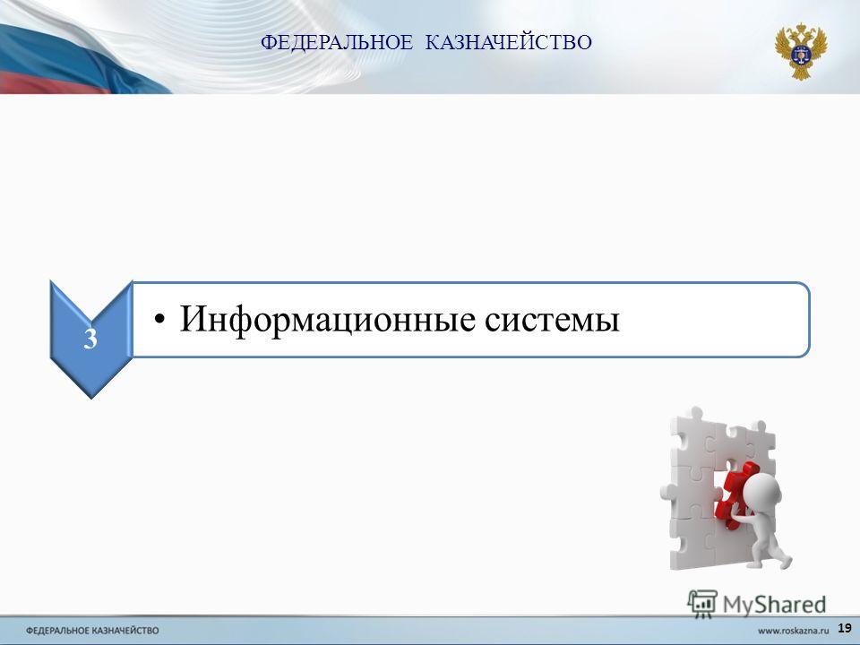 19 3 Информационные системы ФЕДЕРАЛЬНОЕ КАЗНАЧЕЙСТВО