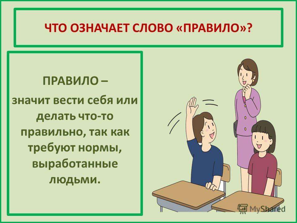 презентация правила знакомства для 1 класса
