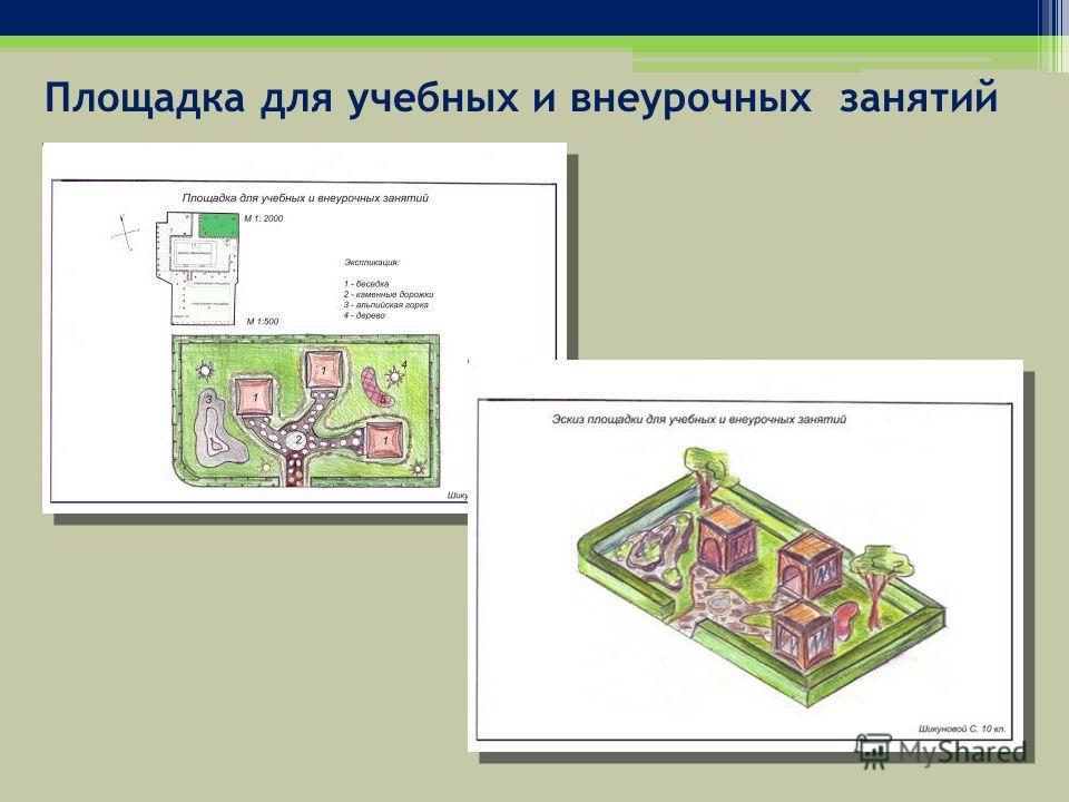Площадка для учебных и внеурочных занятий